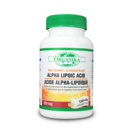 Acid alfa lipoic - 250 mg