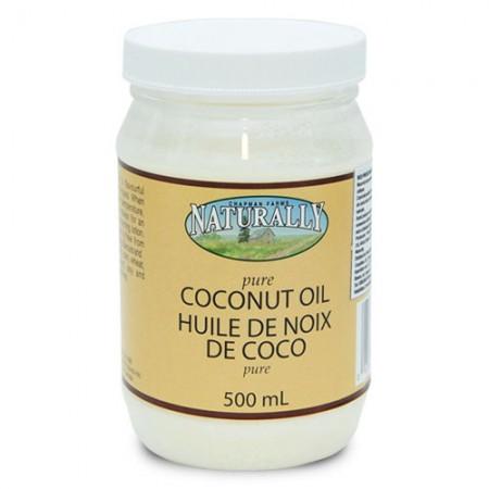 Ulei pur din nuca de cocos - 500 ml
