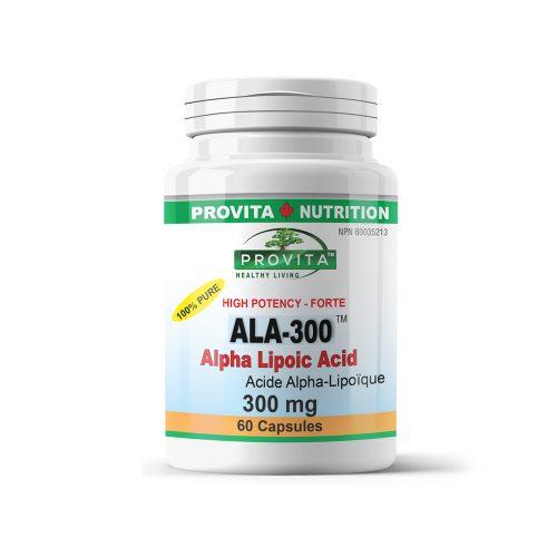 ALA-300 - Alpha Lipoic Acid (Acid alfa lipoic) forte