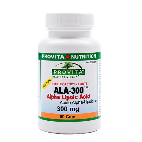 ALA-300 - acid alfa lipoic forte
