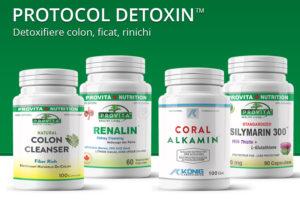 Protocol Detoxin de 30 zile - detoxifiere colon, ficat, rinichi