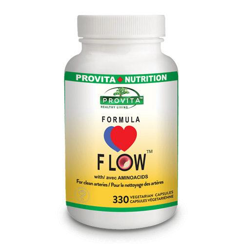 Formula flow cu aminoacizi - curățire completă a sistemului cardiovascular
