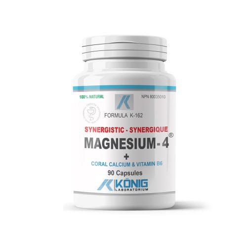 Magnesium-4™- Magneziu sinergistic cu calciu coralier și vitamina B6