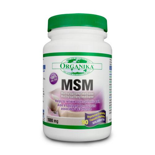 MSM (metil sulfonil metan) 100% pur