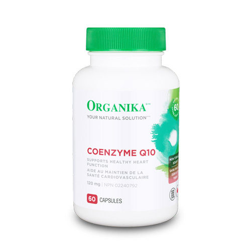 Coenzima Q10 - 60mg - 120 capsule: scânteia vieții