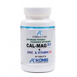 Cal-Mag 2:1 – potență optimă calciu, magneziu, zinc și vitamina D