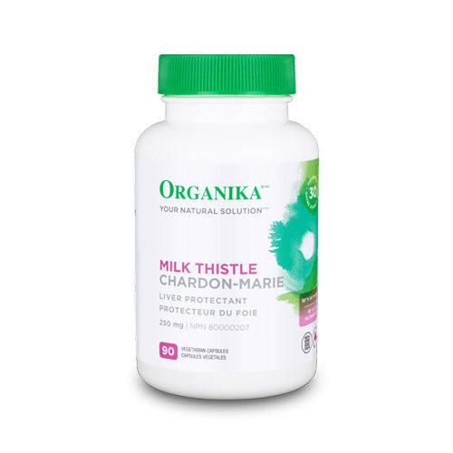 Milk Thistle (silimarina) - pentru insuficienta hepatica