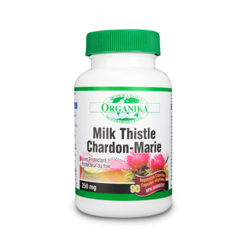 Milk Thistle (silimarina) - pentru insuficiență hepatică