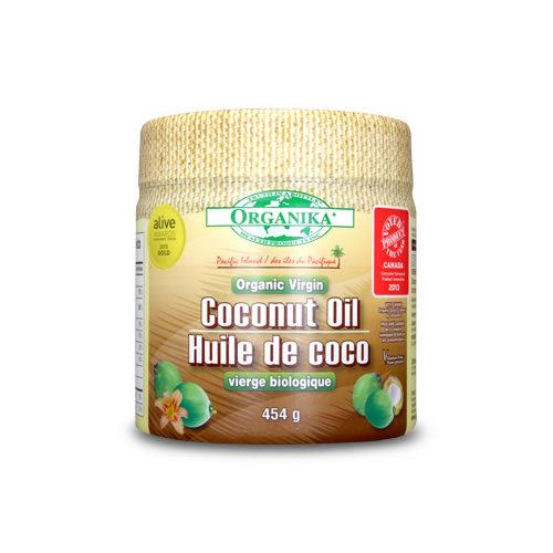 Ulei virgin organic de nucă de cocos