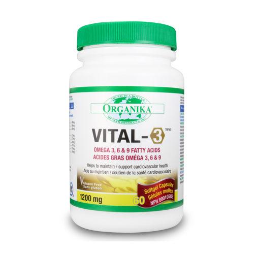 Vital-3 – complex de Omega 3-6-9