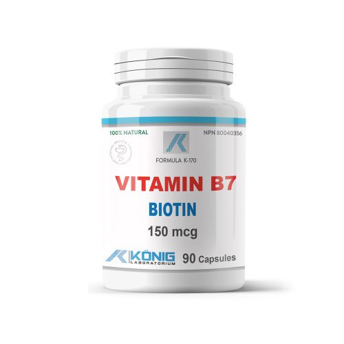 Vitamin B7 biotin (vitamina H)