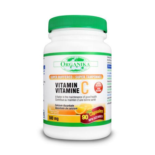 Vitamina C 500 supertamponată cu bioflavonoizi și rutina
