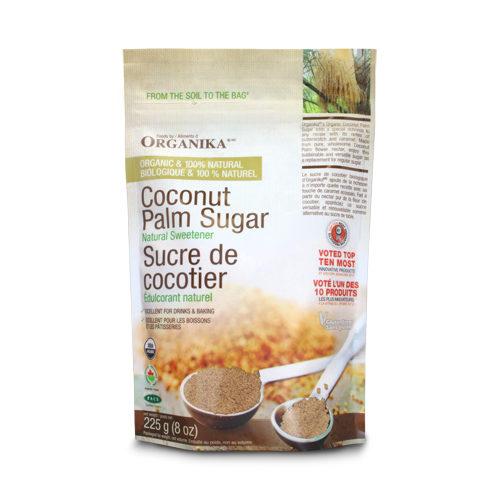 Zahăr brun ecologic din palmier de cocos