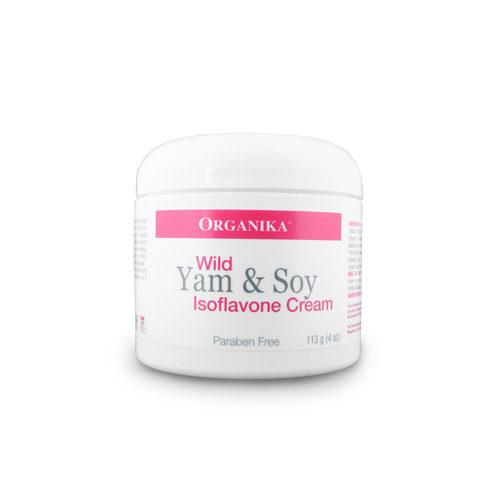 Crema cu yam sălbatic și izoflavone (izoflavonoizi)