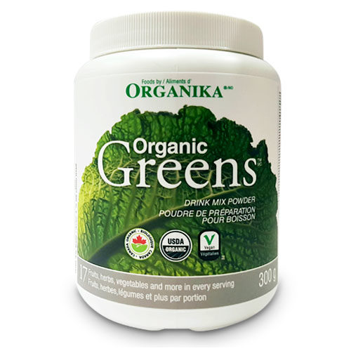 Organika Organic Greens Drink Mix Powder