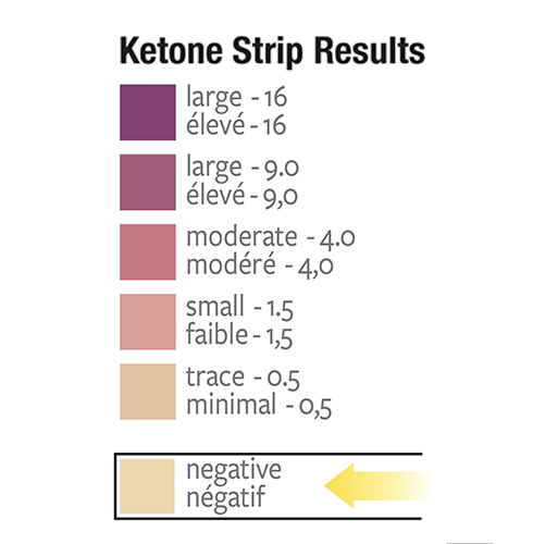 Rezultate Keto Strip