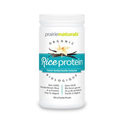 Organic Rice Protein (Proteina din orez brun incoltit)
