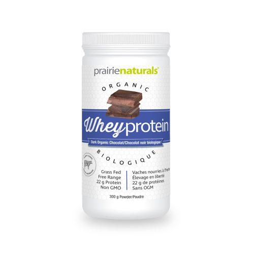Organic Whey Protein (Proteina din zer cu aroma de ciocolata neagra)